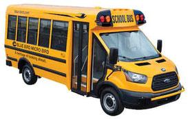 FORD transit school bus