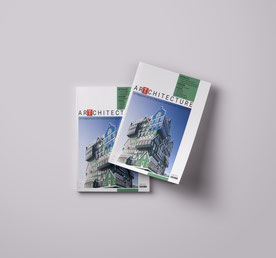 Création d'une plaquette sur l'architecture - Graphiste Sarthe