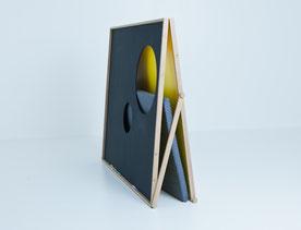 Projet design,Paravent pliant en bois