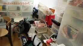 大阪・西宮の家事代行単発サービス利用前の写真
