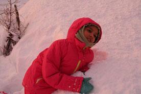 Autrans, jeux de neige