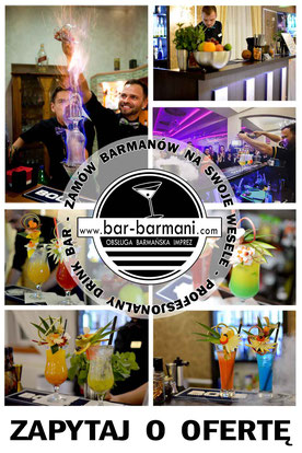 oferta drink bar usługi barmańskie