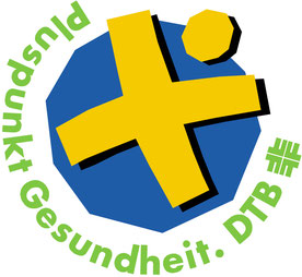 """Dieses Angebot wurde vom Deutschen Turnerbund (DTB) mit dem Gütesiegel """"Pluspunkt Gesundheit"""" ausgezeichnet."""