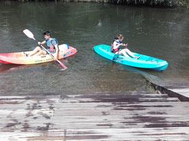 Kayak déponté plus sécurisant ;-)
