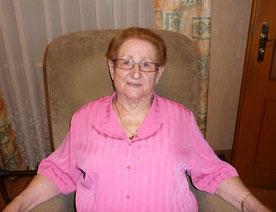 Yvonne MARX 85 ans le 21 avril 2019