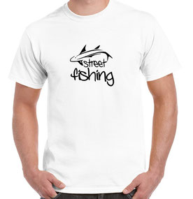 tee-shirt street fishing