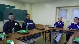 左から、田野倉さん・内藤さん・田村さん
