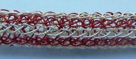 Drahtgewebe Viking Knit in Streifenopotik