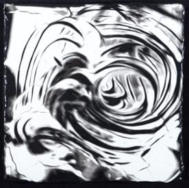 Black & White I  (45X45cm)  2017