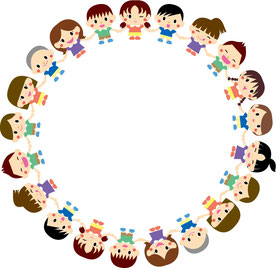 子供たちの輪
