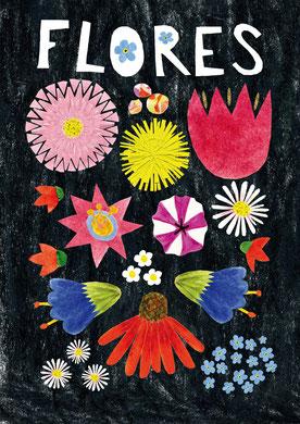 Blumen Plakat