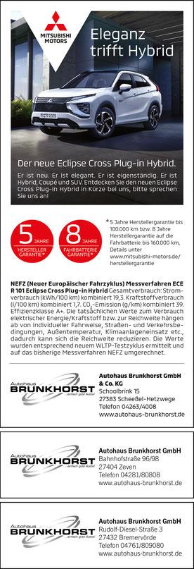 Autohaus Brunkhorst Scheessel-Hetzwege, Zeven, Bremervörde