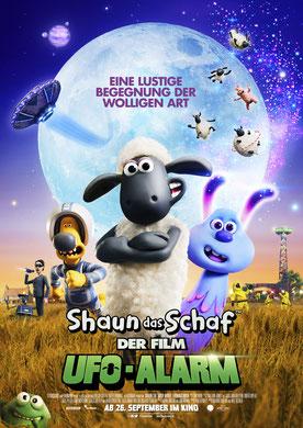 Shaun das Schaf Ufo Alarm Hauptplakat