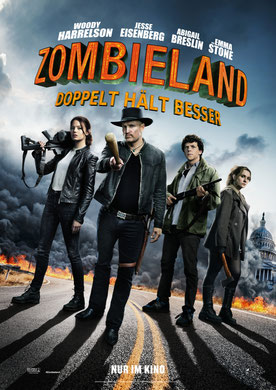 Zombieland Doppelt hält besser Plakat