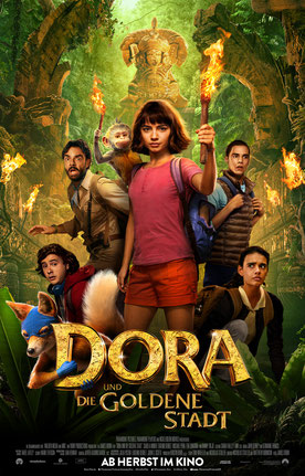 Dora und die Goldene Stadt Hauptplakat