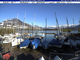 Webcam Hafen Hintermeggen
