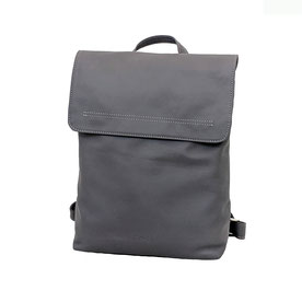 Leder Rucksack grau Back Bag EM-EL Collection