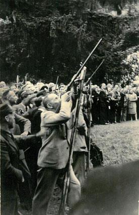 Vogelschießen 1952