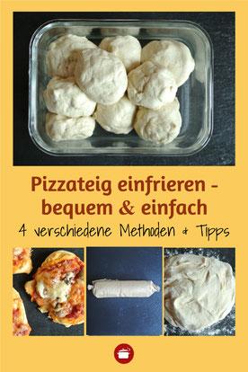 Pizzateig einfrieren Pizza mealprep #pizza