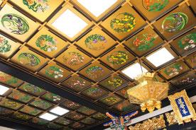 天井絵の画像