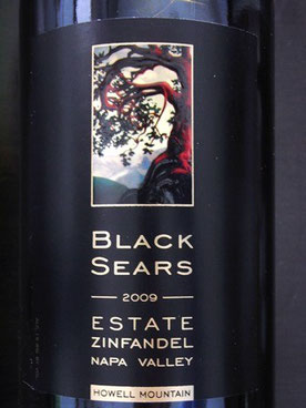 BLACK SEARS ESTATE ZINFANDEL 2009