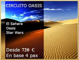 Circuito al Sahara tunecino.