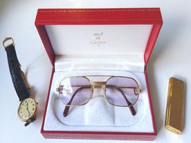 MAG Lifestyle Magazin online Le Must de Cartiere Geschichte Uhren Sonnenbrillen Feuerzeuge Accessoires 80er Jahre vintage Klassiker