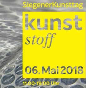 Siegener Kunsttag, Kunststoff 2018