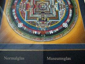 Museumsglas für Bilderrahmen Wien