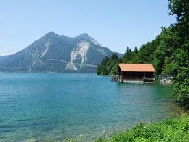 Jachenau - Walchensee mit Hütte