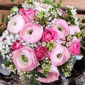 Brautstrauß romantisch