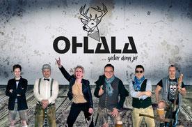 """Buchen Sie bei uns die geniale Live Band """"Ohlala"""" aus München !!!"""
