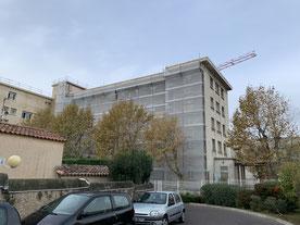 """Bâtiment """"le lubéron"""" Marseille"""