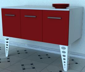 pied de meuble console Design pour cuisine
