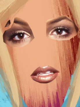 FREE BRITNEY: Oops she will make it again - 30X40
