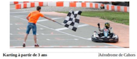 affiche Karting Karthors Cahors