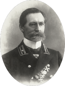 Р.Ю. Зонненбург. 1914. (Фото Г.Еннэ)