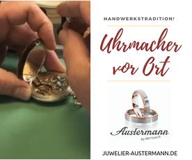 Uhrmacher Düsseldorf Uhr Reparatur