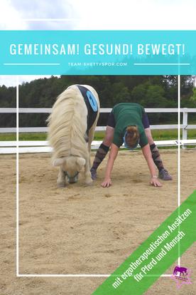Gemeinsam! Gesund! Bewegt! Ergotherapie für Pferd und Mensch