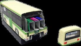 ホッチキス バス型 収納BOX 針
