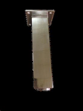 patas de acero inox