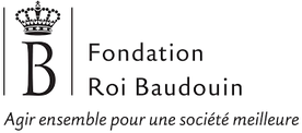 Logo Fondation Roi Baudouin: Agir ensemble pour une société meilleure