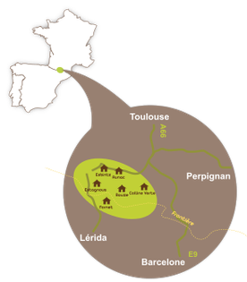 localisation du tour du Mont Valier, ariège, Catalogne, Pyrénées
