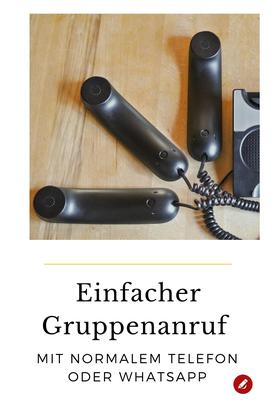 Kontakt halten per #Gruppenanruf #Telefonkonferenz #whatsapp #zuhausebleiben
