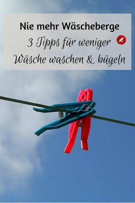 Nie mehr Wäscheberge #wäsche #wäschewaschen #tippsundtricks