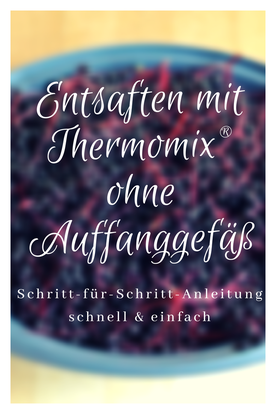 Wie kann ich mit Thermomix entsaften? #ohneAuffanggefäß #thermomixrezepte #beeren #saft