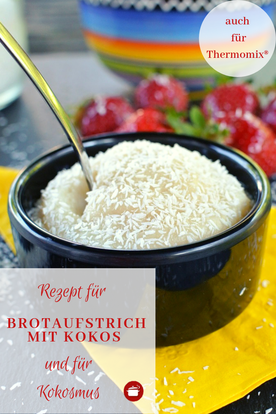 Brotaufstrich mit #kokos #aufstrich #brotaufstrich #thermomixrezepte