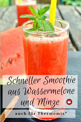 Wassermelone #smoothie #wassermelone #sommerrezept #minze #thermomixrezept