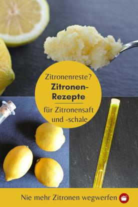 Rezepte für #Zitronensaft #Zitronenschale #Zitronenrezepte #thermomixrezept #orgaBine