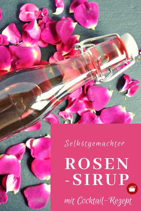Rosensirup #sirup #rosen #sommer #cocktaildrinks #cocktails